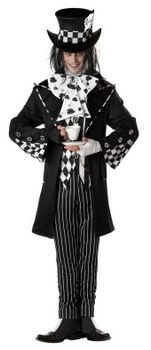 Adult Dark Mad Hatter Costume - Alice in Wonderland Costumes - Candy Apple Costumes
