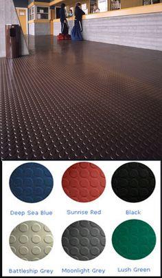 Rubber Matting & Flooring Rolls - Non Slip Durable Rubber Flooring Rolls