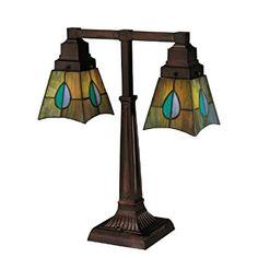 Mackintosh Leaf Mission Table Lamp