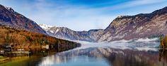 https://flic.kr/p/MC8LRp   Bohinj Lake, SLOVENIA   Matin parfait lorsque j'arrive au lac de Bohinj. Belle lumière, brume qui, doucement, disparait. Laissant apparaitre les beautés du lac et de ses montagnes.