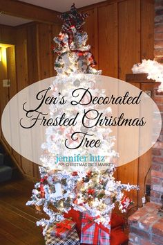 This year, Jennifer Lutz combined her new DIY ornaments with some old ones from last year's Scandinavian tree, and other decorative items. Get inspiration for your own holiday display from Jen's decorated frosted artificial Christmas tree for Frosted Christmas Tree, Unique Christmas Trees, Christmas Bulbs, Diy Ornaments, Old Ones, Decorative Items, Scandinavian, Display, Holiday Decor