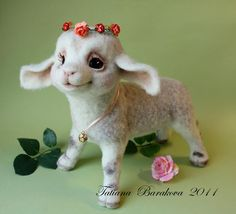 The Sweetest Needle Felted Animals by Tatiana Barakova