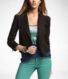 Asymmetrical Moto Jacket (Express)
