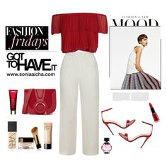 The Fashion Mood by soniaaicha on Polyvore featuring polyvore, fashion, style, Keepsake the Label, Topshop, Gucci, See by Chloé, NARS Cosmetics, Giorgio Armani, Victoria's Secret and clothing