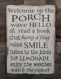 Porch quote