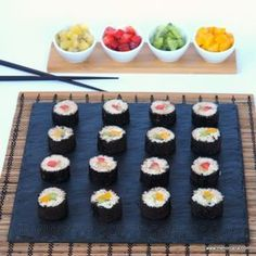 Sushi dulce (trampantojo)