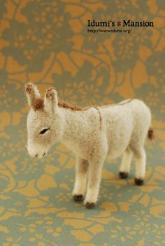 YOSHiNOBU / Wool Felt  animal