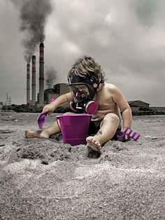 the future of earth affected by pollution Save Our Earth, Save The Planet, Theme Tattoo, Photocollage, Environmental Issues, Global Warming, Mother Earth, Climate Change, Art Photography