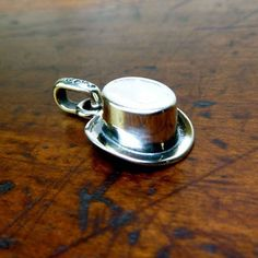 Top Hat Charm Sterling  by GOOD ART HLYWD