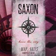 Blog Tour Exclusive: Introducing the Saxon Family from 'Map of Fates' by Maggie Hall