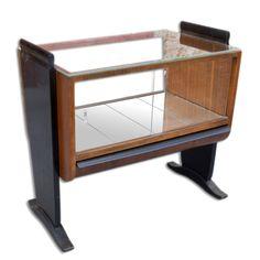 For sale: Jindřich Halabala side table, Chair Design, Furniture Design, Table Desk, Storage Cabinets, Woody, Desks, Vintage Furniture, Vintage Designs, 1940s