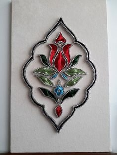 Thread Art, Thread Painting, Contemporary Art Forms, Diy And Crafts, Arts And Crafts, Nail String Art, String Art Patterns, Paper Embroidery, Wire Art