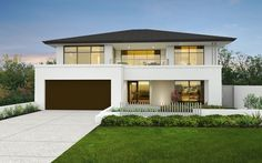 The Montgomery 16m+ two storey home design