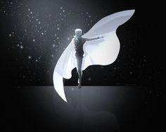 The Phanton Thief, the Kaito Kid makes a ghostly appearance in the moonlight. Ran And Shinichi, Kudo Shinichi, Conan, Detective, Kaito Kuroba, Kaito Kid, Amuro Tooru, Magic Kaito, Doujinshi