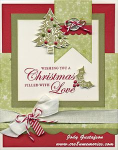 Close to my Heart - Christmas Love stamp - Believe Paper