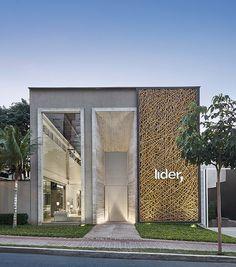 Fachadas comerciais modernas 20 modelos a n fachada for Fachadas de casas modernas em belo horizonte