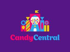 Logo for Candy Central by Luke Bott