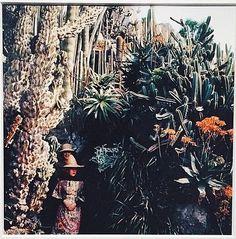"""""""Florette et Stéphanie au jardin exotique, Monaco, 1964."""" J.H. Lartigue © Ministère de la culture-"""