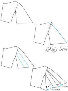 Passo 2 - O Vestido Laguna - Vestido Bonus para o livro Sundressing de Melissa Mora - Costele um sundress frente feminino - (30) Dias de Sundresses - Melly Sews