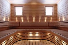 Photo about Finnish sauna with spectacular lights. Image of cosmetics, inside, interior - 13731746 Gym Interior, Interior Garden, Interior And Exterior, Interior Design, Bench Designs, Pool Designs, Design Sauna, Design Design, Sauna Lights