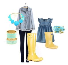 Mommy and Me Outfit from Polyvore