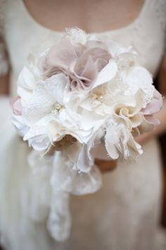 Alternative Fabric bouquet.