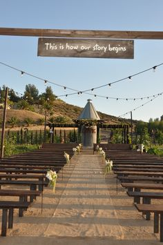 Plan your Wine Country Wedding in Temecula — Pinterest style at Peltzer Farms unique and rustic vintage setting   Temecula Grapevine