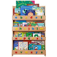 Buy Tidy Books ABC Bookcase, Natural online at JohnLewis.com - John Lewis