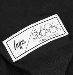 Hype x Topman - Black on Black