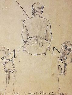 Rudolf Schweitzer-Cumpăna (1886-1975) - Un muscal din Bucureștiul vechi / A teamster from old Bucharest