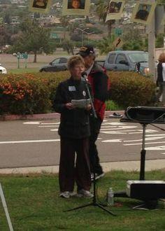 Sue Taylor, Brady Campaign, Gun Safety Rally April 30, 2013