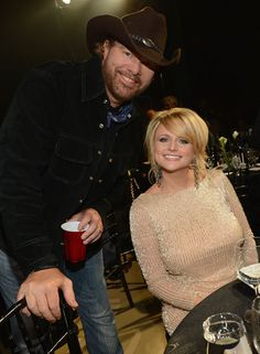 Miranda Lambert and Toby Keith