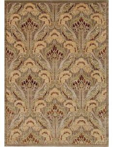"Art Deco Rug Design F482-3753 9'10""x14'"