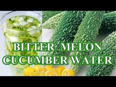 The Most Powerful Detox: Cucumber Water Detox Low Carb Smoothies, Weight Loss Smoothies, Smoothie Diet, Fruit Smoothies, Bitter Cucumbers, Bitter Melon, Weight Loss Tips, Lose Weight, Cucumber Detox Water