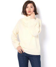 【ZOZOTOWN|「ツケ払い」ならお支払は2ヶ月後】Discoat Parisien WOMENS(ディスコートパリシアンウィメンズ)のニット/セーター「袖ボリュームオフタートル」(PA16E0050380100)を購入できます。