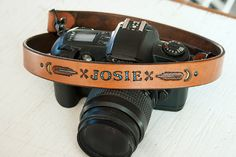 Custom Leather Camera Strap  Personalized Native by MesaDreams, $65.00