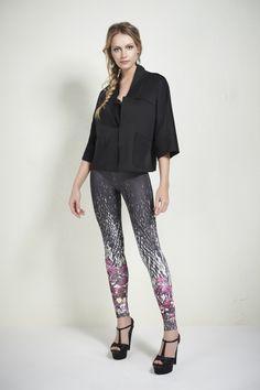 #madreperola #inverno2014 #fashion #style #pants #flowerprint