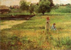 John Ottis Adams Summertime 1890