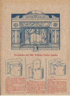 1924 French Paper Theater instructions by pilllpat (agence eureka), via Flickr