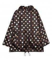 Rose Dot Raincoat