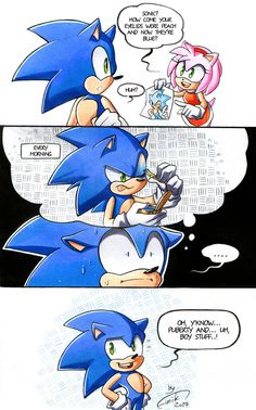 Boy stuff by FinikArt sure Sonic, suuure Sonic The Hedgehog, Hedgehog Art, Shadow The Hedgehog, Comic Pictures, Funny Pictures, Sonamy Comic, Game Sonic, Sonic Funny, Sonic Mania