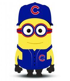 Minion Chicago Cubs
