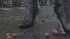 黒革手袋 彼女革のコート 殺し屋 革のズボン 長靴
