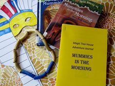Magic Tree House: Mummies in the Morning activities and crafts