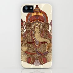Ganesha: Lord of Success iPhone Case $35.00
