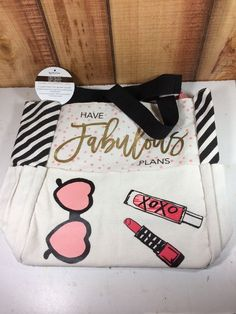 glam girl planner tote recollections