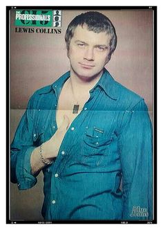 British Drama Series, British Actors, The Professionals Tv Series, Martin Shaw, I Do Love You, Tom Burke, David Cassidy, Vintage Men, Vintage Photos