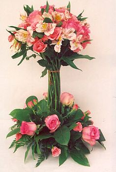 Fresh Flower Topiary | rose topiary delivered not available for shipment for an extraordinary ...