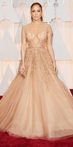Absolute favorite gown of the Academy Awards 2015 Red Carpet Arrivals - Jennifer Lopez from #InStyle