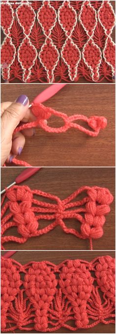 Learn To Crochet Reversible Mosaic Stitch